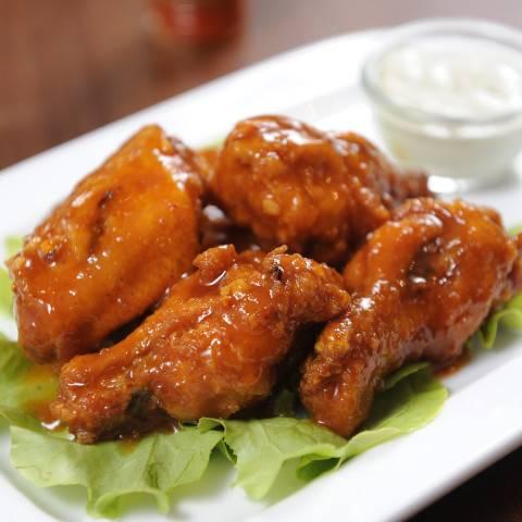 HONEY GARLIC CHICKEN WINGS RECIPE-CookwithShabss