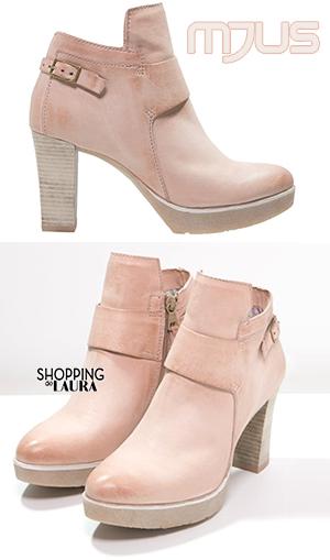 Boots et bottines roses femme : Mjus