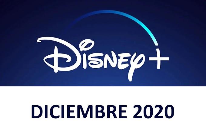 Novedades y Estrenos de Disney+ España Diciembre 2020