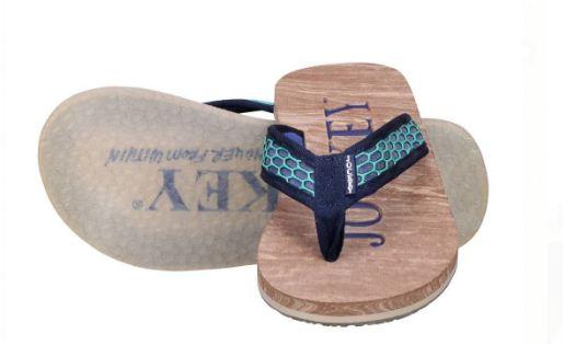 Men's Black Rexine & EVA Solid Slippers