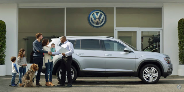"VW Atlas nos EUA : ""bug do amor"""