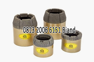jual Diamond Core Bit Nq Hq sparepart mesin bor
