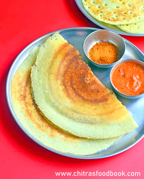 Pirandai dosai recipe / Adamant creeper dosa