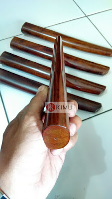 All New KIMU Dark Tanto (Pisau Kayu)