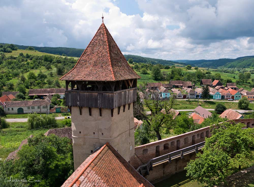 Biserica fortificata Alma Vii Sibiu Romania