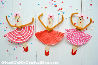 popsicle stick ballerinas