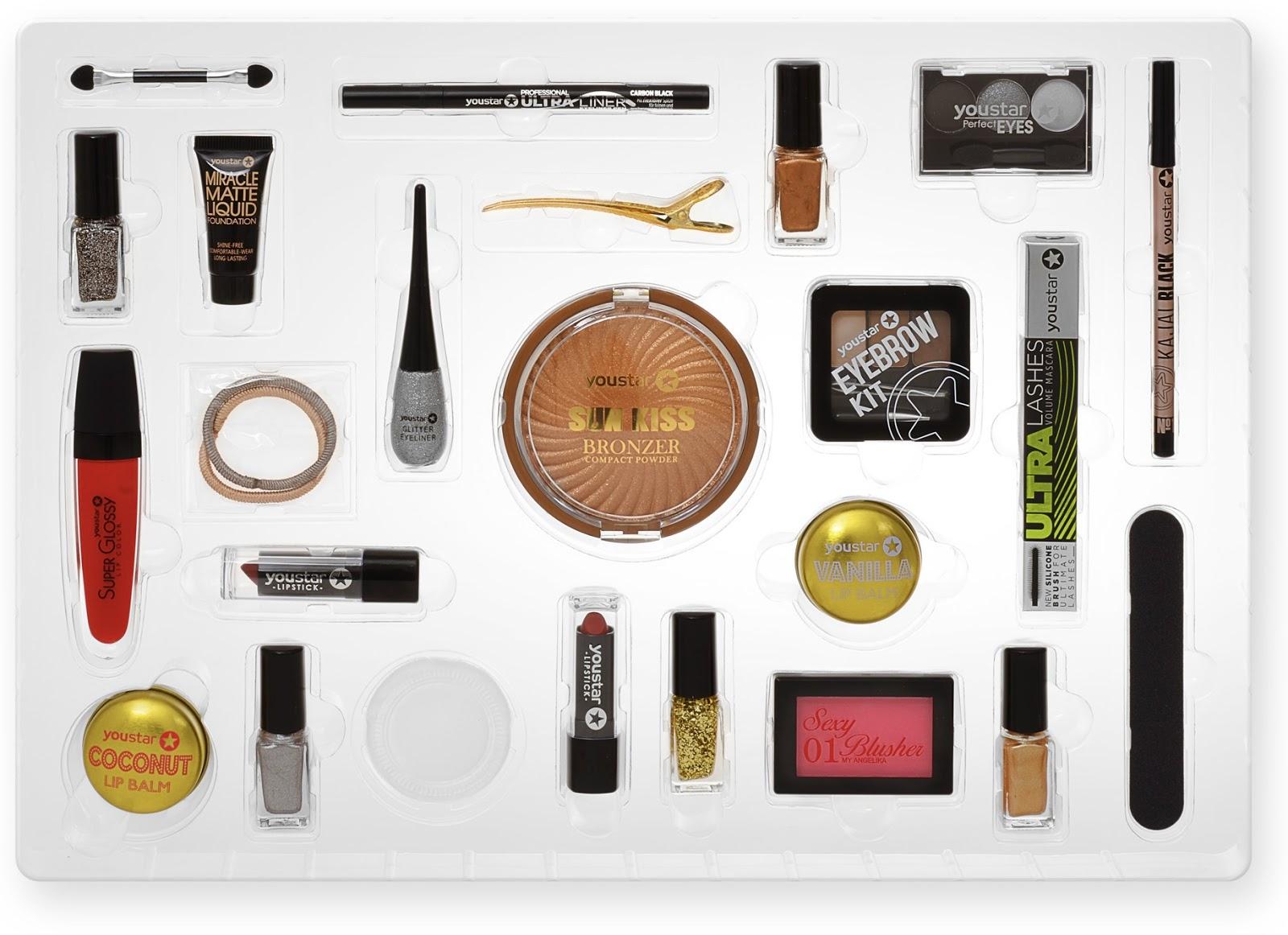 Make Up Weihnachtskalender.Dobner Kosmetik Make Up Adventskalender Pretty X Mas