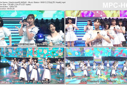 AKB48 - Music Station 190913 (TV Asahi)