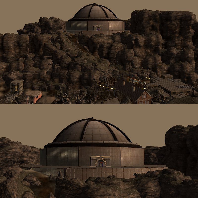 Beyond the boulder dome