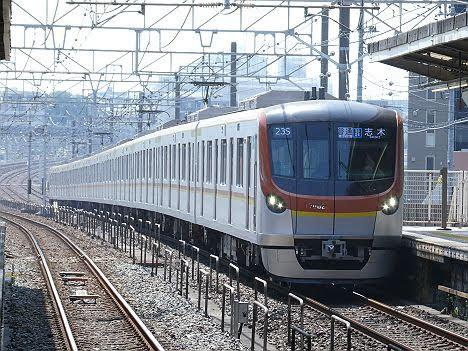 【急行→通急→各駅停車→普通】4変化 志木行き17000系