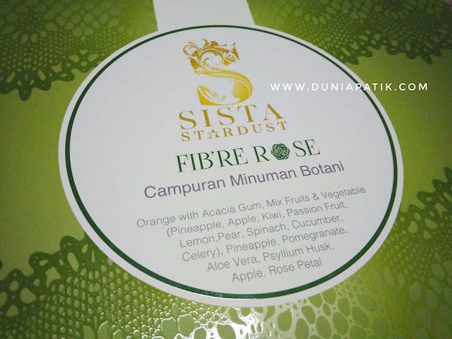 SISTA STARDUST FIBER ROSE