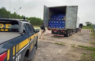 Quase 17 mil litros de cerveja transportados irregularmente são apreendidos no Sudoeste da Bahia