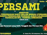 Desain Spanduk Persami MTs Yasmida Ambarawa