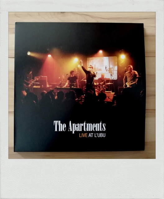 The Apartments : live at l'Ubu