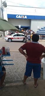 Saiba mas detalhes da tentativa frustrada de assalto em frente agencia da CAIXA em Guarabira.