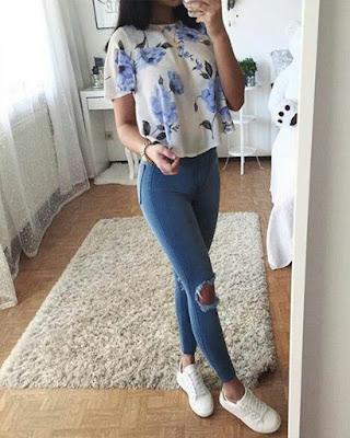 Outfit casual para trabajar desde casa