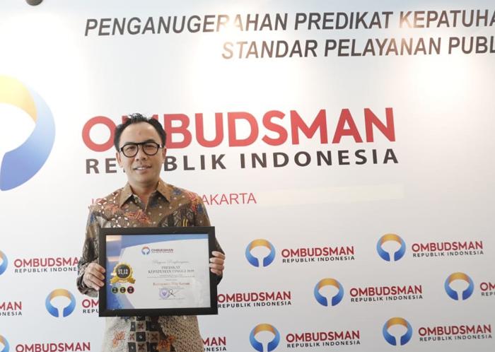 Waykanan Peroleh Peringkat Pertama se-Sumatera Predikat Pelayanan Publik