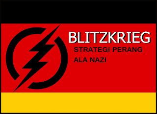 Taktik perang Jerman Blitzkrieg / catatanadi.com