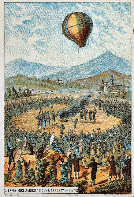 Junho na História - primeiro voo de balão