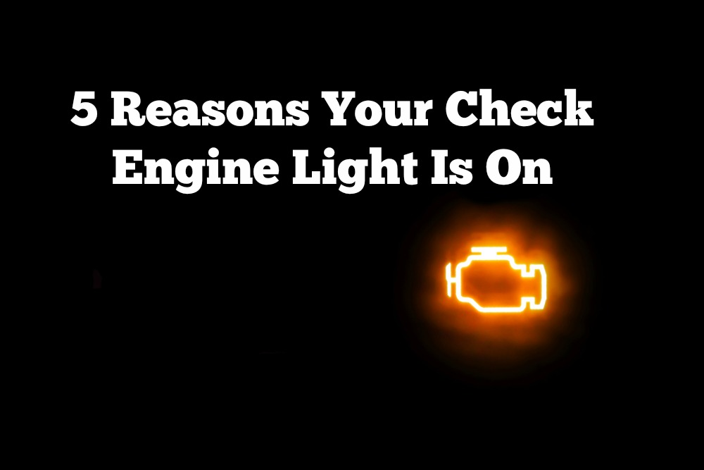 Is Your Check Engine Light On? We Can Help!