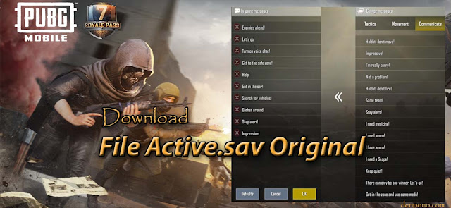 Download File Active.sav Original PUBG Mobile