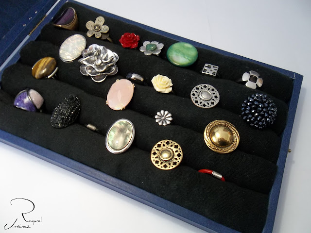 DIY expositor de anillos