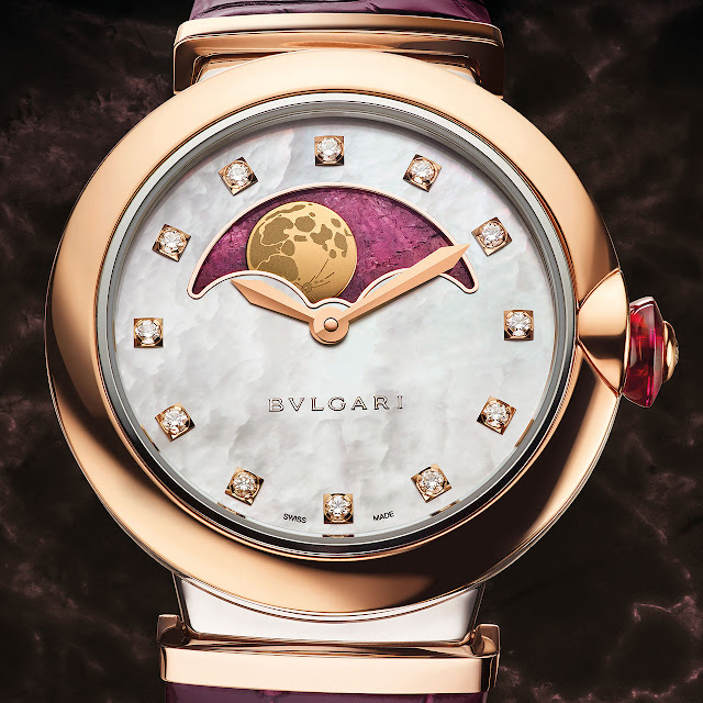 Bvlgari Lvcea Moon Phases Mechanical automatic Watch
