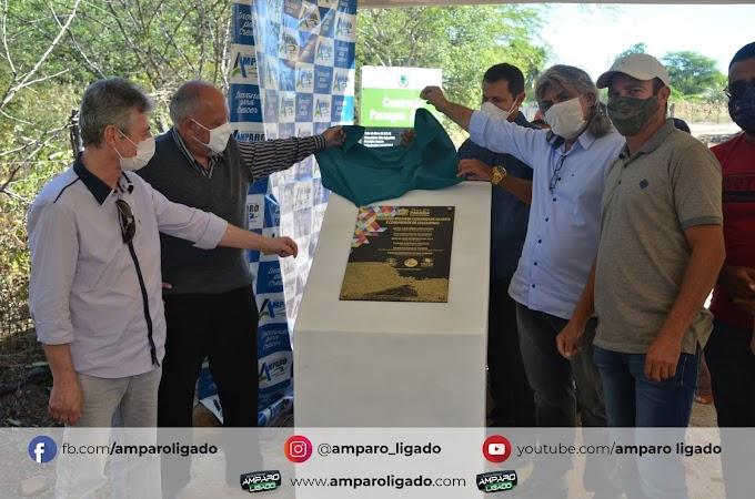 Prefeitura de Amparo fez entrega Passagem Molhada na comunidade Cacimba de Baixo