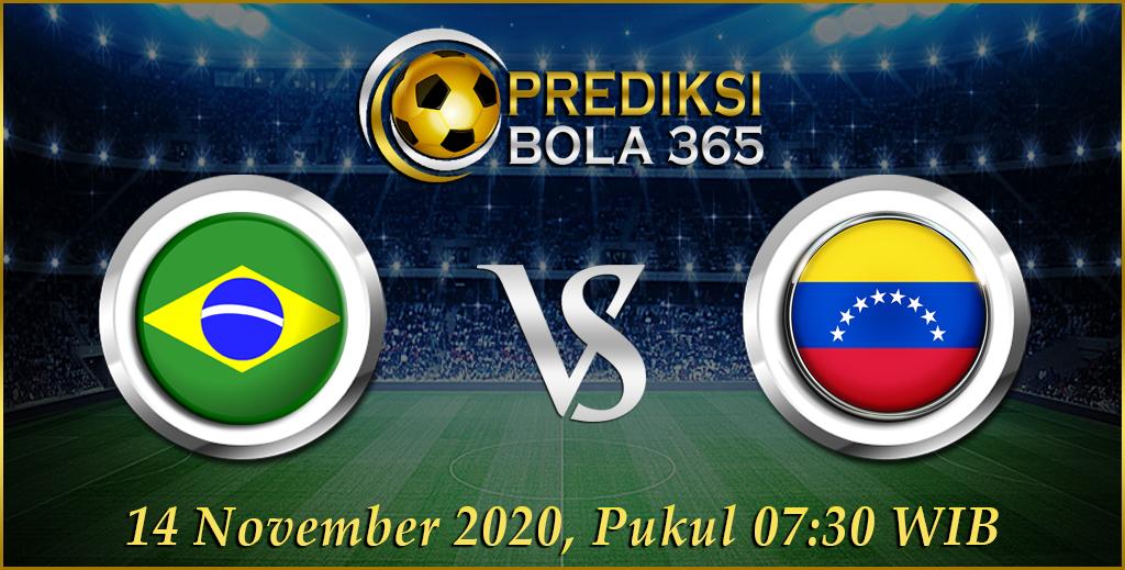 Prediksi Bola Brazil Vs Venezuela Sabtu 14 November 2020