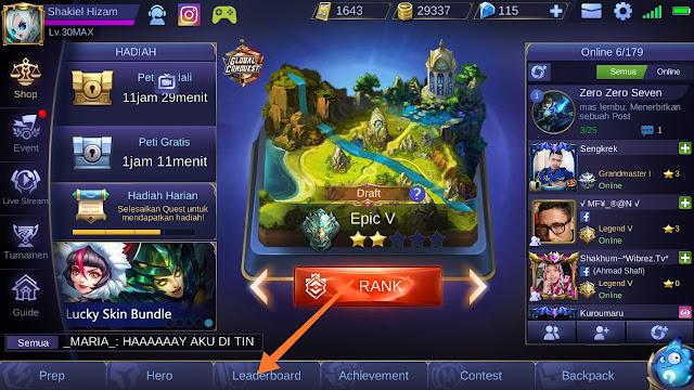 Cara aktifkan Layanan Lokasi di Mobile Legends