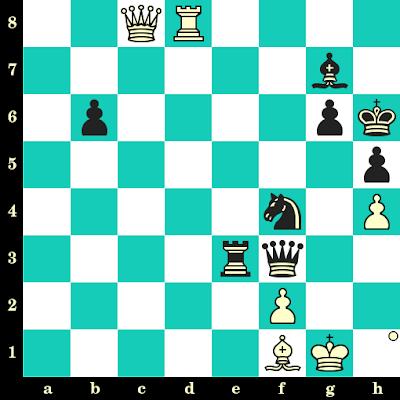 Les Blancs jouent et matent en 2 coups - Bent Larsen vs Zoltan Ribli, Riga, 1979