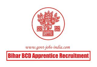 BCD Bihar Apprentice Recruitment 2020