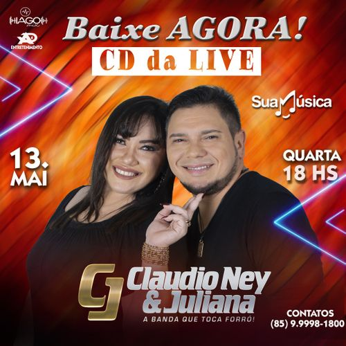 Claudio Ney e Juliana - Live - 2.0 - Maio - 2020
