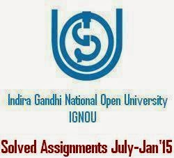 Ignou Assignments 2015