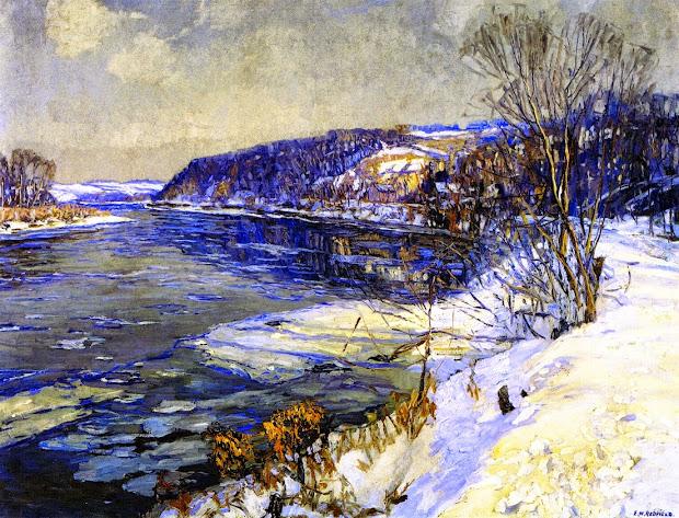 Edward Willis Redfield Paintings