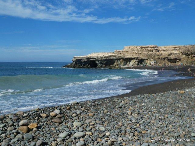 playas volcánicas arena negra Fuerteventura