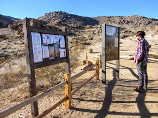 Fortynine Palms trailhead, Joshua Tree National Park