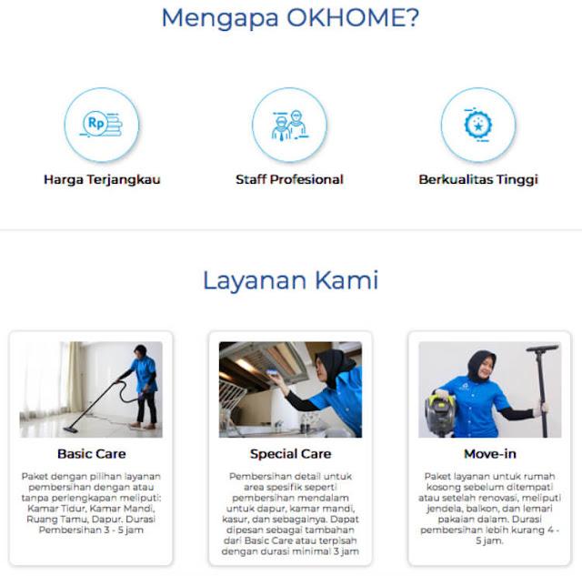 berbagai produk layanan okhome