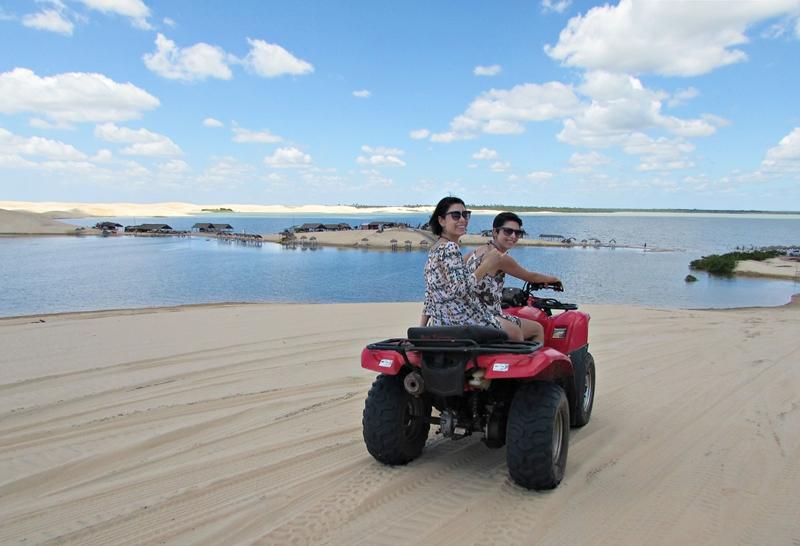 O que fazer em Jericoacoara: Dunas de Tatajuba e Mangue Seco