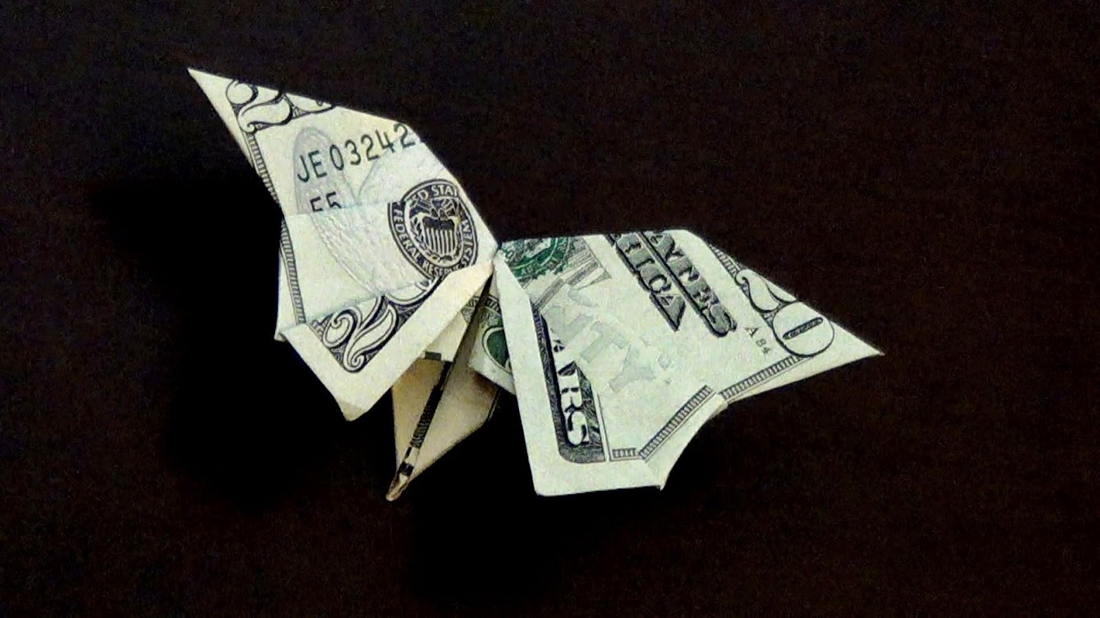 Dollar Bill Origami Butterfly Craft Ideas And Art Projects