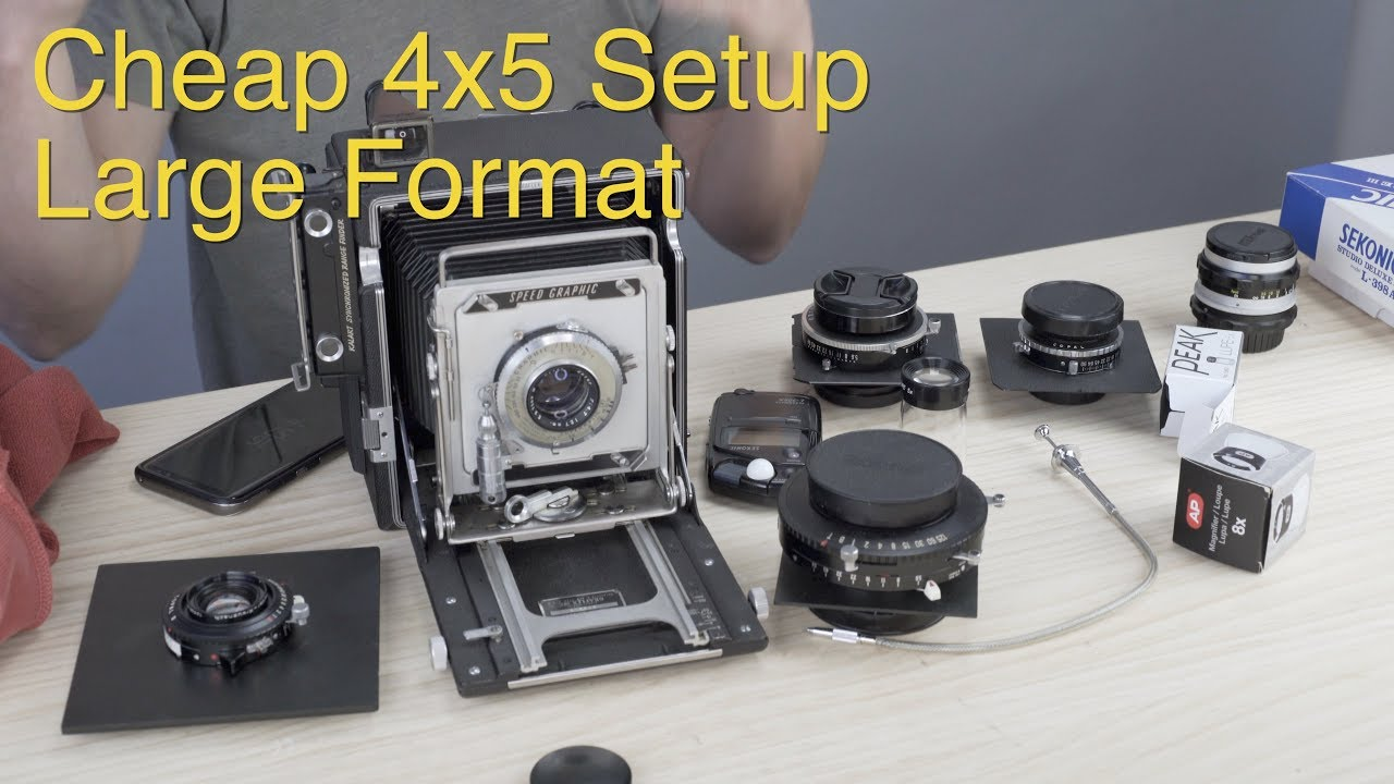Cheap 4x5 Setup: Large Format