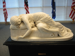 Harriet Goodhue Hosmer's sculpture of Beatrice Cenci at the University of Missuori-St Louis