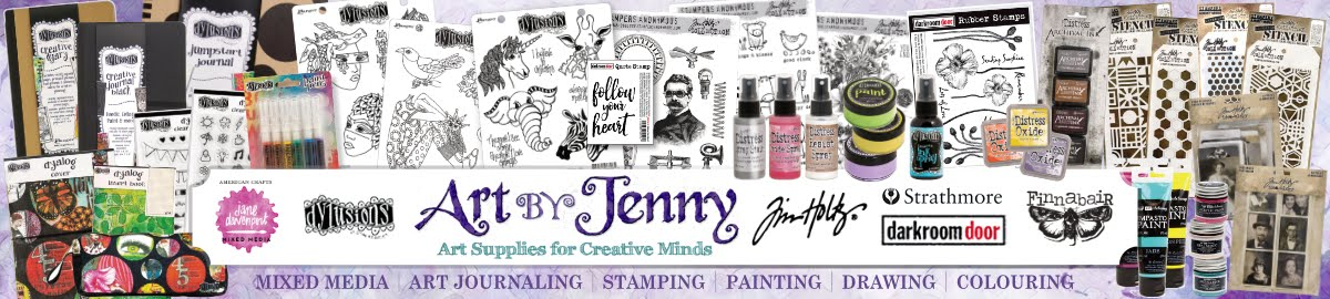Get your Supplies for Mixed Media, Journaling and Visual Arts