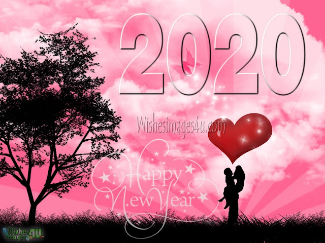 New Year 2020 Full HD Love Pics Greetings for Lovers