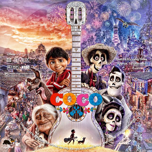 Coco DVD Label