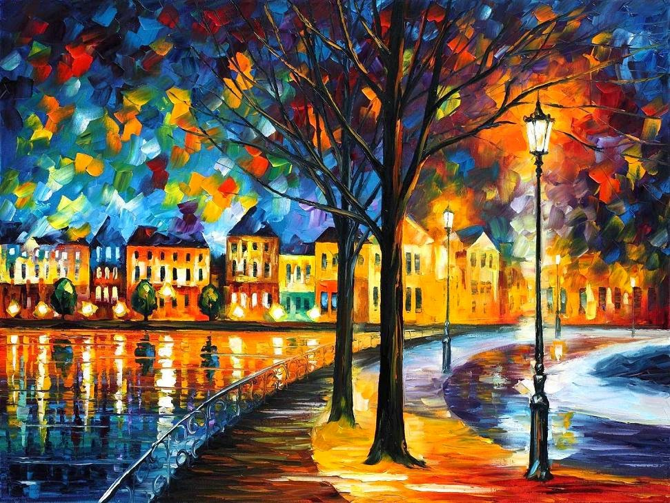 13-Leonid-Afremov-Expression-of-Love-for-the-Art-Of-Painting-www-designstack-co