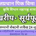 Pradhan Mantri Fasal Bima Yojana (pmfby) Maharashtra Kharip- Sunflower