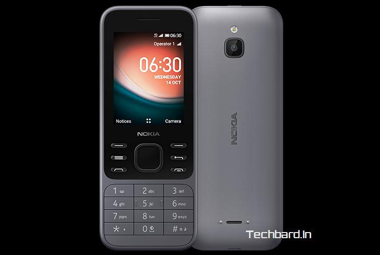 Nokia 6300 (4G) Smartphone launched in India