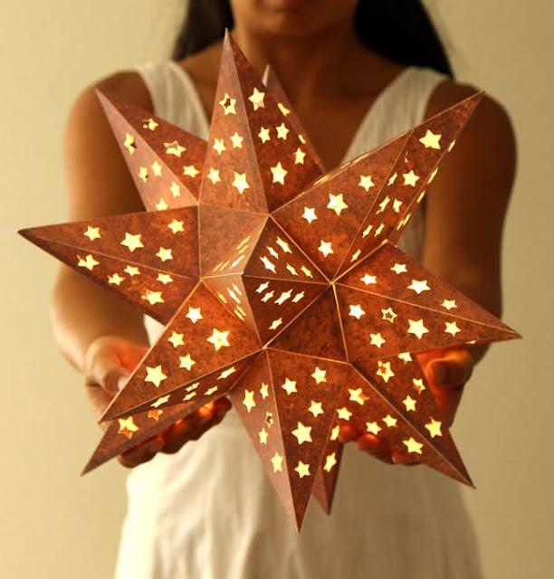 Star Paper Lantern - christmas gfit ideas unique