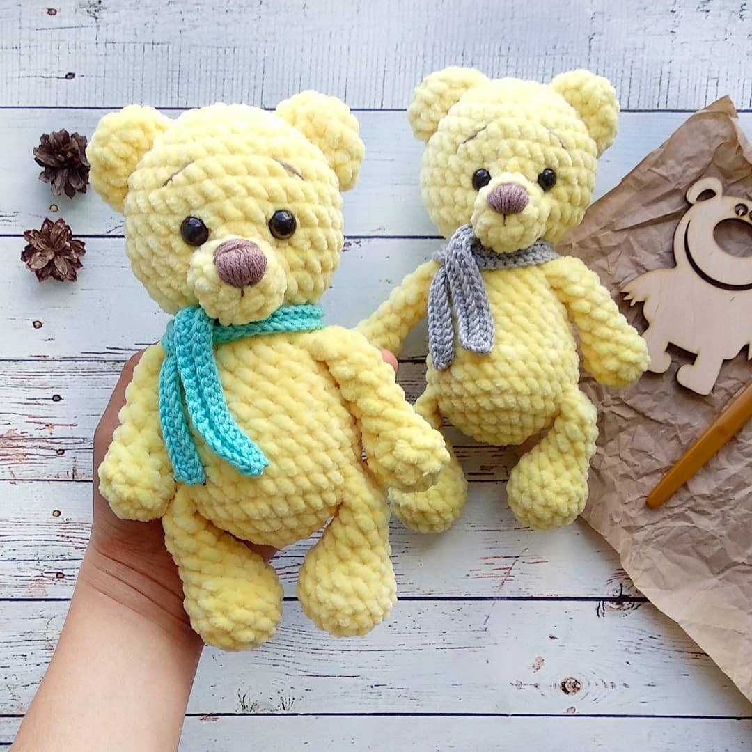 Crochet Bear Video Tutorial - YouTube | 1080x1080